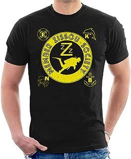 Life Aquatic Inspired Zissou Society Men's T-Shirt