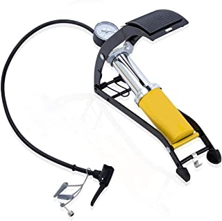 Goank Floor Pump Mini Bicycle Motorcycle Ball Toy Air Inflator