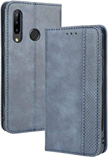 Case for DOOGEE Y9 Plus,Leather Stand Wallet Flip Case Cover for DOOGEE Y9 Plus,Retro magnetic Phone shell,Wallet phone ca...