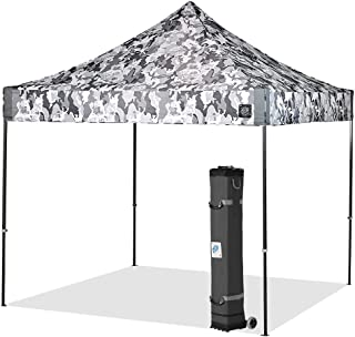 E-Z UP VG3SG10CG Vantage Instant Shelter Canopy, 10 by 10', Camo Gray, 10x10 LIMITED EDITION, Vantage10