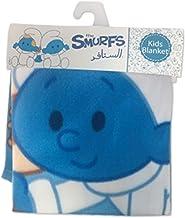 The Smurfs VG-SC-FB-P Fleece King Size Baby Blanket, Light Blue, 76 x 102 cm