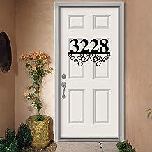 Gepersonaliseerd welkomstbord familie metalen huisnummers, adres plaque, adresnummers, metalen adresnummers, metalen borde...