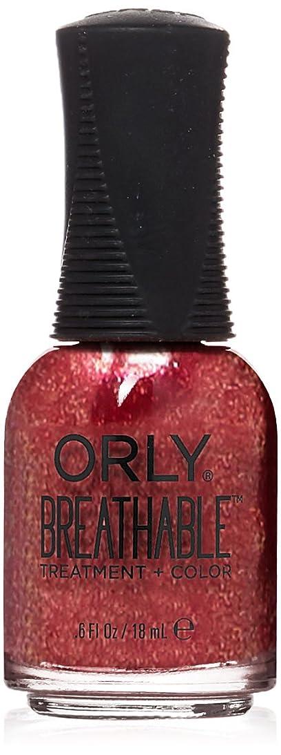 うなり声個人的な宇宙Orly Breathable Treatment + Color Nail Lacquer - Stronger than Ever - 0.6oz / 18ml