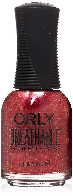 セージバナー残るOrly Breathable Treatment + Color Nail Lacquer - Stronger than Ever - 0.6oz / 18ml