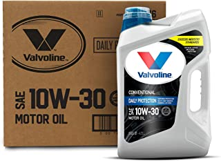 Valvoline Daily Protection SAE 10W-30 Conventional Motor Oil 5 QT, Case of 3