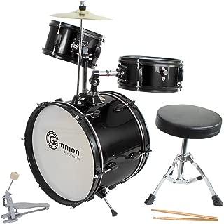 first act drum set black