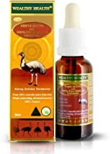 Wealthy Health Triple Active 100% Pure Emu Oil with Juniperberry, Lavender, Black Pepper and Ginger 30ml