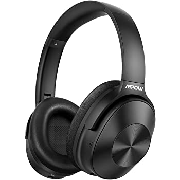 Amazon Com Monoprice Bt 300anc Wireless Over Ear Headphones Black With Anc Active Noise Cancelling Bluetooth Extended Playtime Electronics