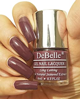 DeBelle Gel Nail Polish Plum Toffee (Plum Maroon Nail Polish) -8ml