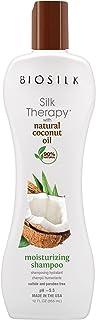 Biosilk Silk Therapy with Organic Coconut Oil Moisturizing Shampoo for Unisex 12 oz Shampoo