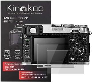kinokoo Pellicola in vetro temperato per Fujifilm X100S/X100/X20/X10/X-E1 Clear Screen Pellicola per fuji X100S X100 X20 X...