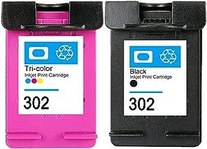 Compatibile With Cartuchos De Tinta HP 302 XL 302xl Negro Tricolor de álta capacidad Compatible Impresora HP mit OfficeJet 3830 3832 4655 4657 DeskJet 1115 2135 3638 3639 HP Envy 4522 4525 4528