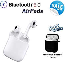 Bluetooth Headphones Wireless Earbuds Pop-ups Auto Pairing HD Noise Reduction in-Ear Built-in Mic Earbud with Charging Box for Android/iPhone of airpods 2 Apple airpod airpods Sports Earphones