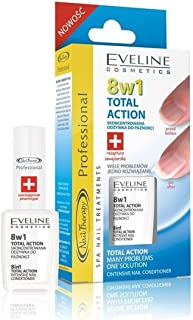 Eveline Cosmetics Nail Therapy Professional No1 Nail Care Brand (Yellow 8in1)