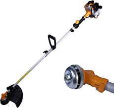 xbull Grass Trimmer Gas Powered Straight Shaft Recon 28CC 2-Cycle Orange