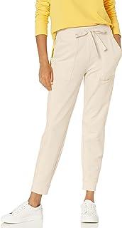 Daily Ritual Jogger de Rizo de algodón y Modal con Bolsillo Pantalones para Mujer