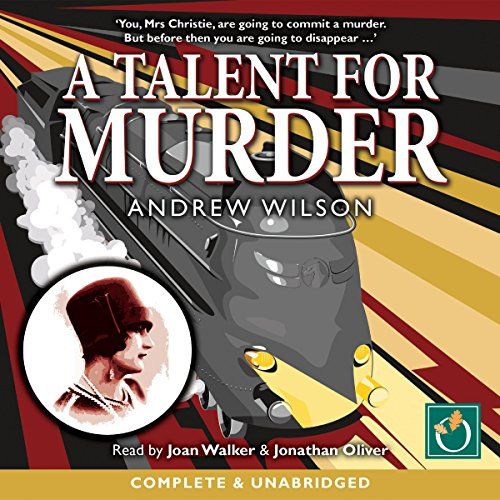 A Talent for Murder audiobook cover art