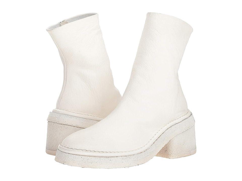 Marsell Burraccio Zip Detail Boot (Optical White) Women