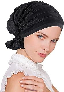 قبعة تربان بلس ذا أبي في الكشكشة من النسيج كيمو قبعات السرطان للنساء