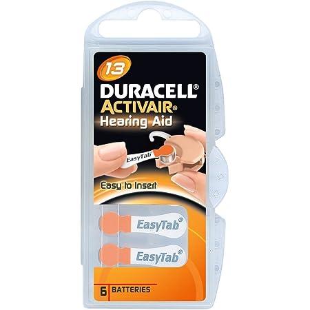 Duracell Activair Size 10 Hearing Aid Battery X60 Elektronik