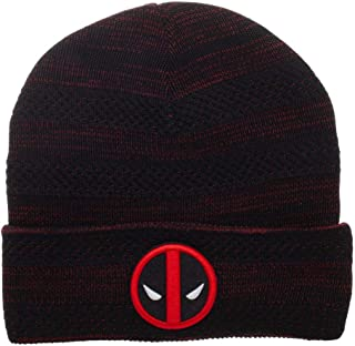 Deadpool Beanie Marvel Hat Deadpool Knit Hat Marvel Beanie Deadpool Hat 8f8c93ab19d