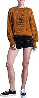 Suéter Tricot com Padronagem Trançada Mofficer
