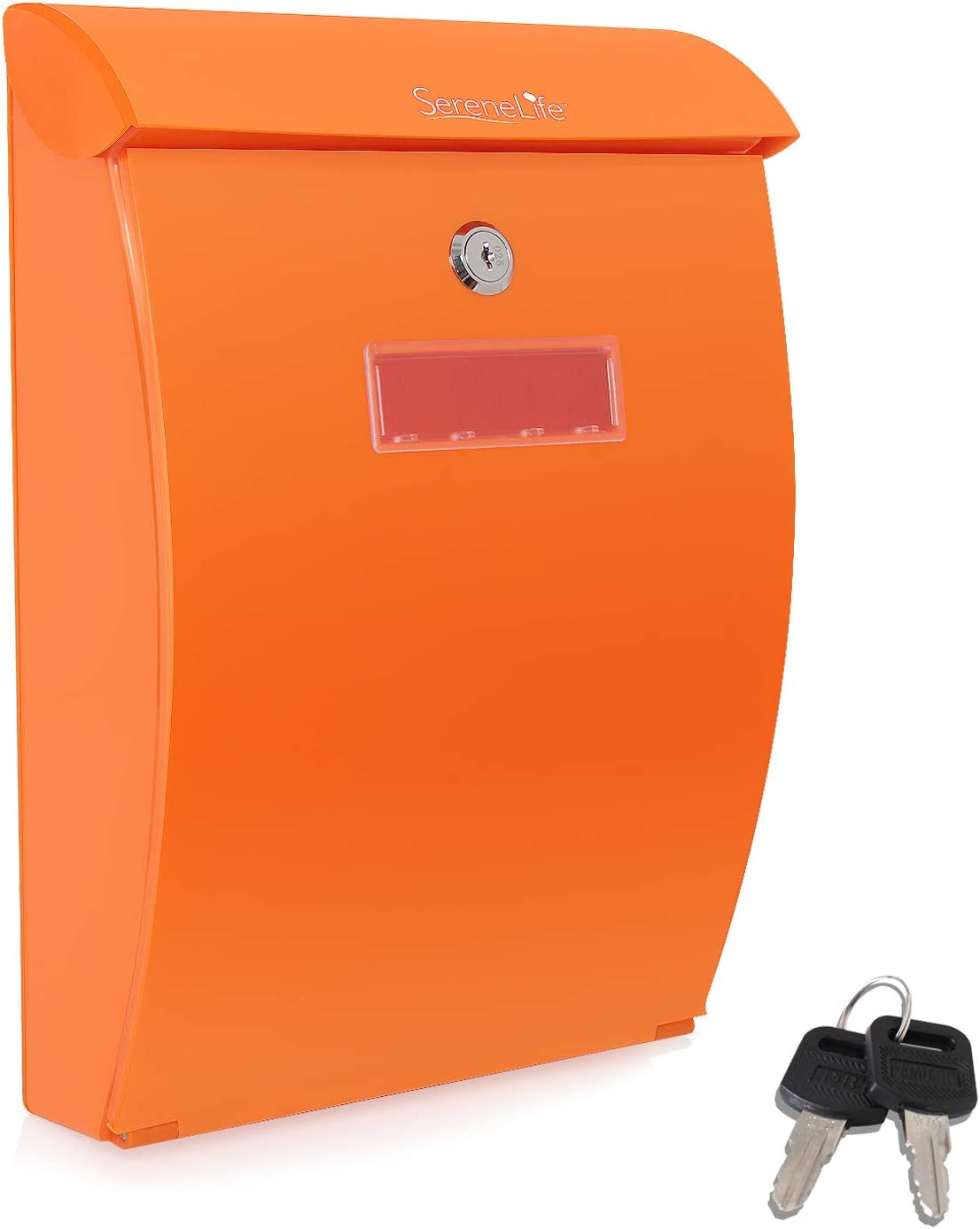 Modern Wall Mount Locking Mailbox Max 89% OFF Super sale Outdoor Indoor - Ver Universal