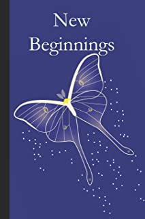 New Beginnings: A diary, journal or  notebook for inmates and their families  to record thoughts and document progress to create lasting change