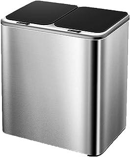 QYT-Poubelle Tri Sélectif, Poubelle de Recyclage de séparation Automatique des déchets du capteur Intelligent, Poubelle Ma...