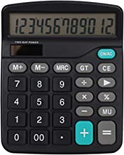 $27 » FMXQYH Dual Power Calculator,Solar Desktop Calculator,12-Digit Large-Screen Calculator,Office Supplies,Handheld for Daily ...