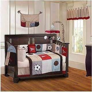 BabyFad Go Team Sports 10 Piece Crib Bedding Set