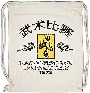 Urban Backwoods Ezekiel 25:17 Borsa da Palestra Sportiva Pulp Fiction Vincent Vega Movie Tarantino Gangster Shirt