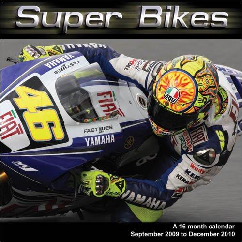 Super Bikes 2010 Wall Calendar