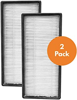 True HEPA Replacement Filter Compatible with Honeywell HRF-C2 Air Purifier Filter C for Models 16200, HHT-011, HHT-080, HHT-081, HHT-085, HHT-090, HHT-145, HHT-149 (2 Pack)
