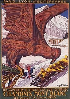 1924 olympics poster