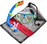 Aqua Lung Sport La Costa Junior Pro Dive Kinder 2er Set (Tauchmaske & Schnorchel) inkl. Beutel -...