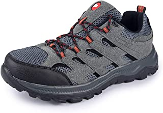 Outdoor Running Shoes, Men's Hiking Sports Shoes, Casual Walking Shoes, Wear-resistant and Lightweight, Suitable for Mount...