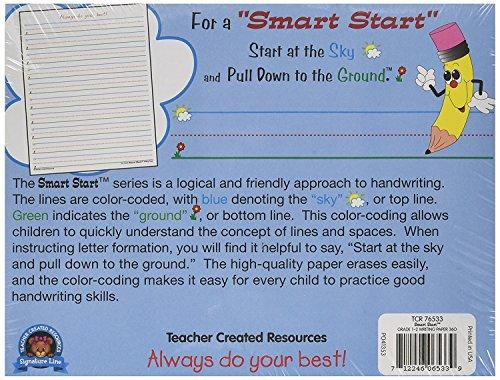 Teacher Created Resources Smart Start 1-2 Writing Paper: 360 Sheets