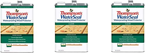 popular THOMPSONS popular WATERSEAL 21802 VOC Wood Protector, 1.2-Gallon outlet online sale (Thrее Расk) online