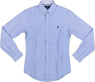 Ralph Lauren Mens Slim Fit Pony Logo Oxford Shirt