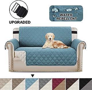 BellaHills Protectores de sofá Impermeables de 2 plazas de Mascotas/Perros Fundas de sofá Fundas de Muebles Antideslizante...