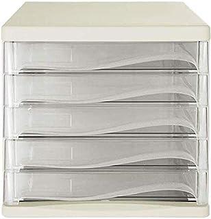 Armoires à dossiers 5 tiroirs Design innovant Charmant Blanc Noir Bleu Bureau Organisateur de Fichiers de Bureau Gestionna...