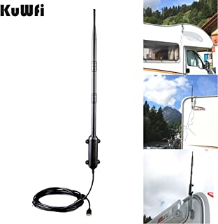 KuWFi 150Mbps Ralink RT3070 Max Distance Outdoor USB 2.0 Adattatore IEEE802.11b / g/n Antenna High Gain Wifi Rocket USB Ad...