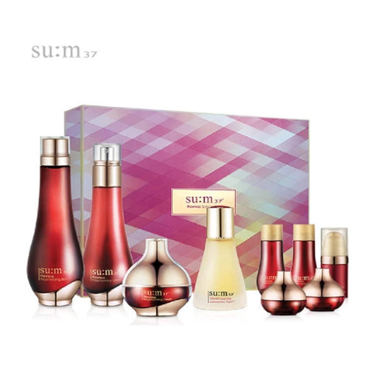 男らしさブレイズ告白する[su:m37/スム37°]Flawless 3pcs Special Limited Skincare Set/フローレス3種のスキンケアセット + [Sample Gift](海外直送品)