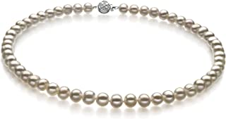 Bliss White 6-7mm A Quality Freshwater Cultured Pearl Necklace