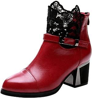 NEEKY Femmes Talon /épais Pointu Chaussures Simples Talons Hauts D/ét/é Chaussures de Mariage Bureau Lady Dress
