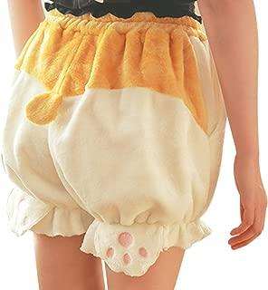 Cute Bloomers Corgi Butt Pants Lolita Pajama Shorts Animal Loungewear Sleepwear
