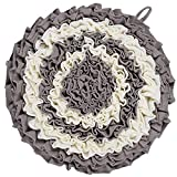YEAKOO 2019 Upgraded Dog Snuffle Mat for Small Large Dogs Cats, Hand Woven