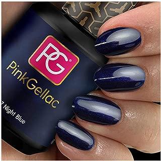 Pink Gellac #117 Night Blue European Soak-Off UV / LED Gel Polish (15ml / 0.5 fl oz) by Pink Gellac