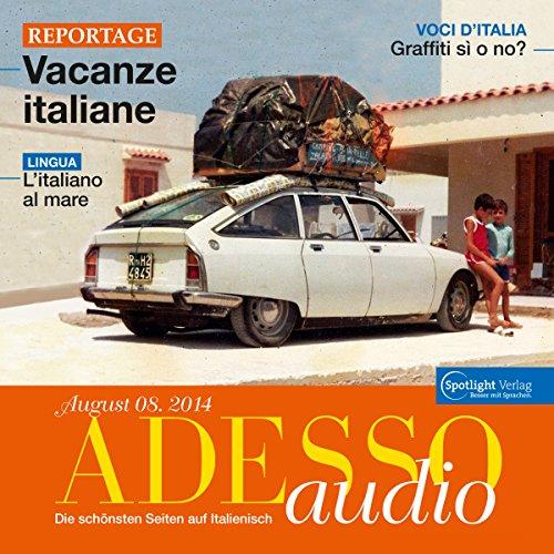 ADESSO Audio - L'italiano al mare. 8/2014 Titelbild